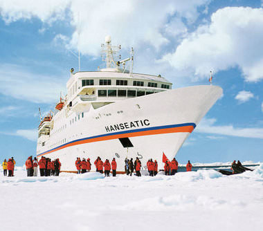 Expeditiecruises met MS Hanseatic van rederij Hapag-Lloyd