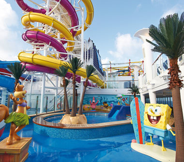 Norwegian Breakaway familiecruises met kinderen in spongebob-thema