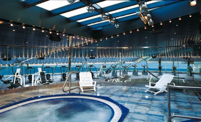 Fitness en spa van Carnival Destiny