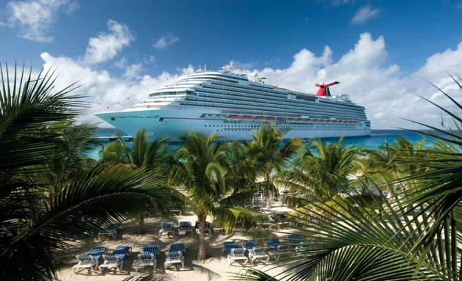 Cruiseschip van Carnival Dream