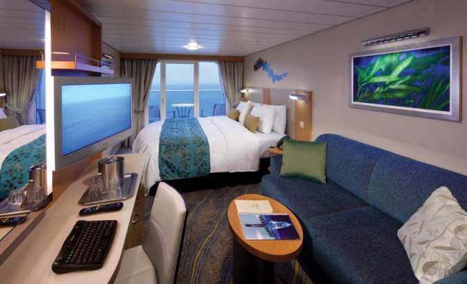 Balkonhut Allure of the Seas van Royal Caribbean
