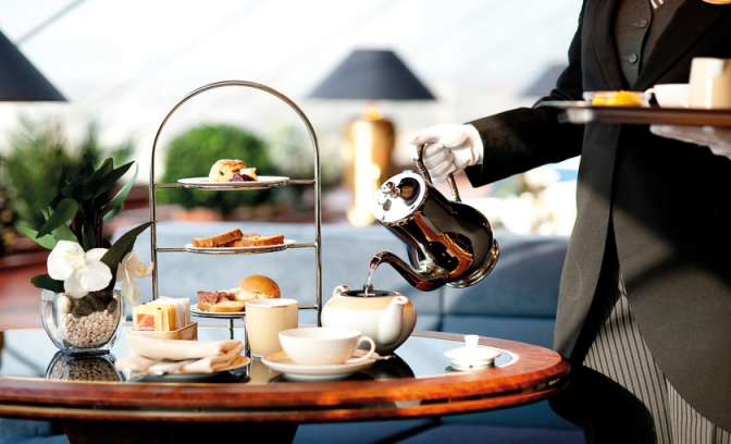 High Tea op MSC Splendida