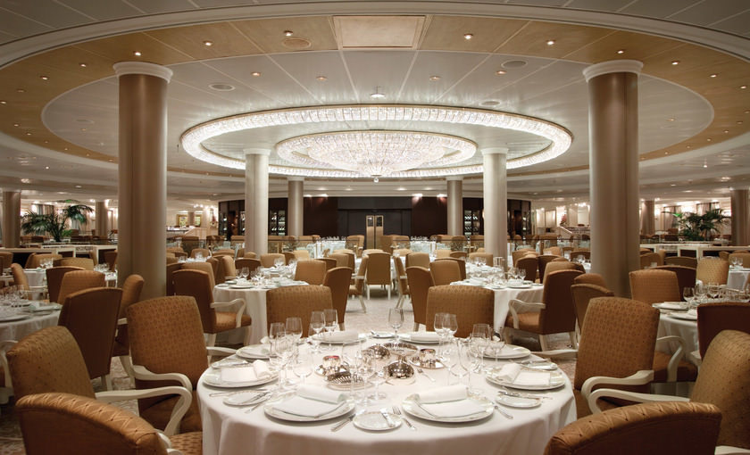Dinerzaal Oceania Cruises