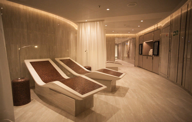 Seabourn Encore Spa op cruiseschip