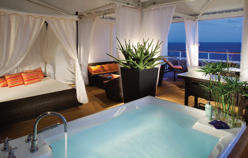 Seabourn Sojorn relax room