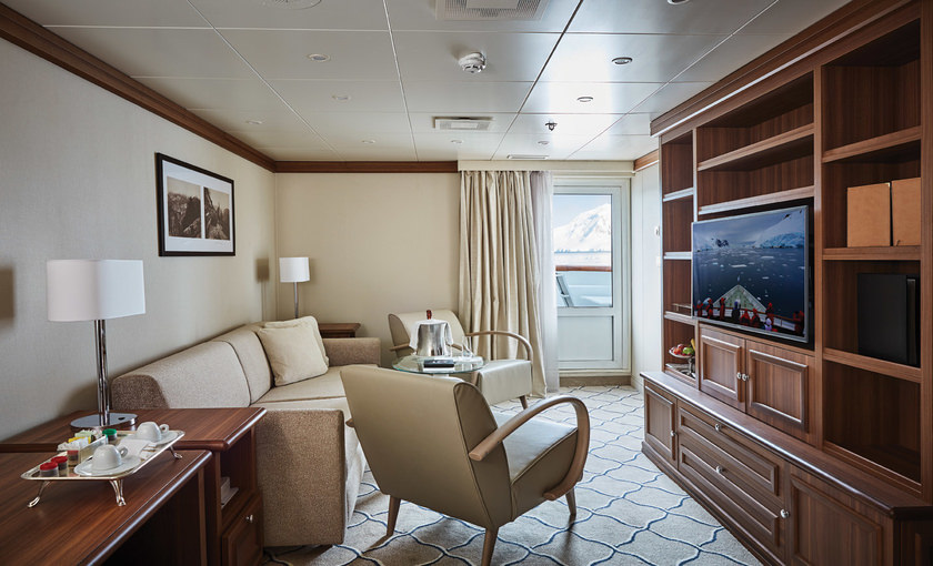 Suite van Silverseas Explorers