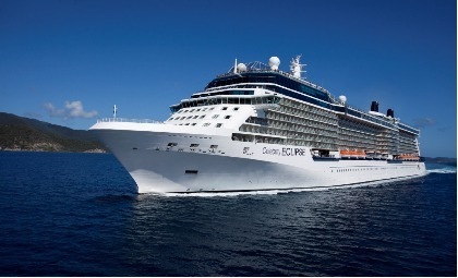 Cruiseschip Celebrity Eclipse van rederij Celebrity Cruises