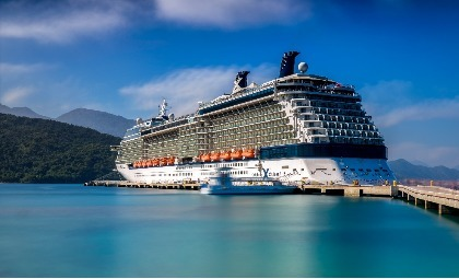 Cruiseschip Celebrity Silhouette van rederij Celebrity Cruises