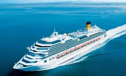 Costa Favolosa van rederij Costa cruises