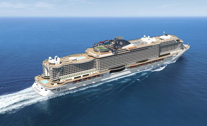msc Seaview van MSC cruises