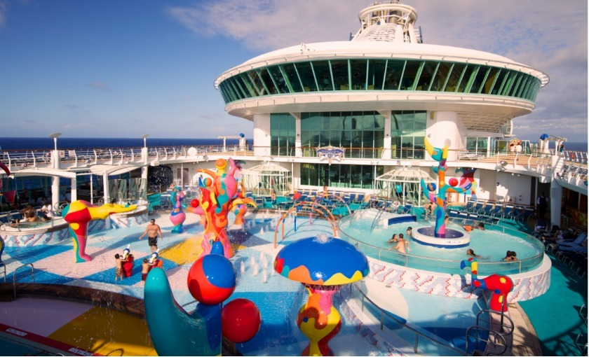 Kinder zwembad op de Freedom of the Seas