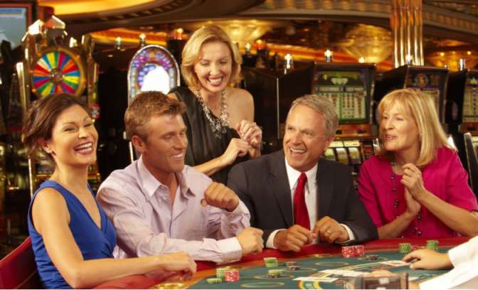 Het casino op de Liberty of the Seas