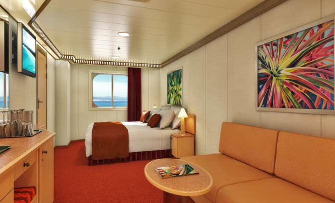 Hut van cruise Carnival Splendor