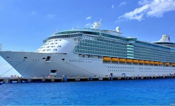 Het hele schip van de Independe of the Seas