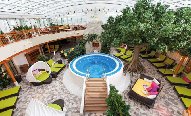Wellness en spa van rederij AIDA