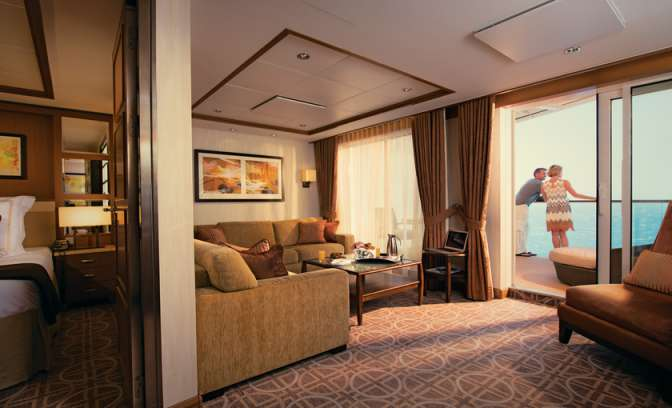Suites op cruiseschip van Celebrity Eclipse