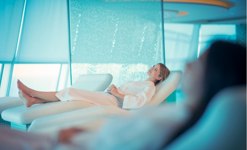 De spa op de Celebrity Reflection