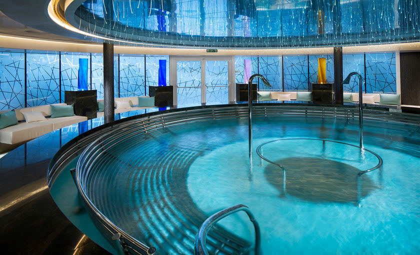 Greenhouse spa op de Koningsdam van Holland America Line