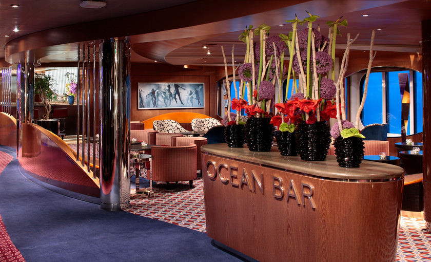 Ocean Bar op ms Koningsdam