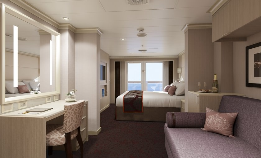 Vista Suite op MS Koningsdam