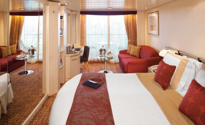 Suite van cruiseschip Celebrity Infinity