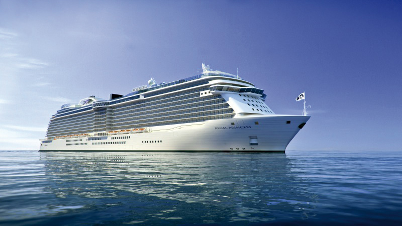 De Regal Princess van Princess Cruises