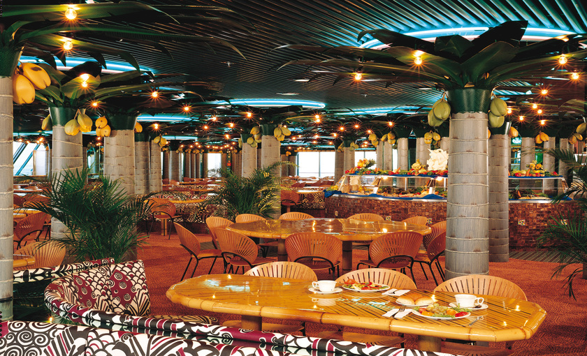 Restaurant van Carnival Fascination