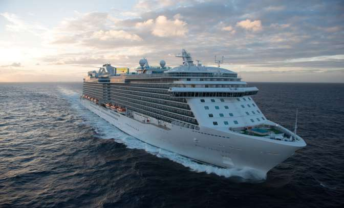 De Royal Princess van Princess Cruises
