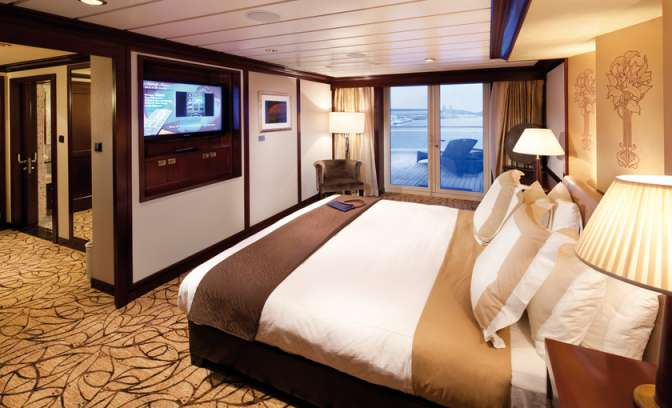 Penthouse suite van Celebrity Constellation