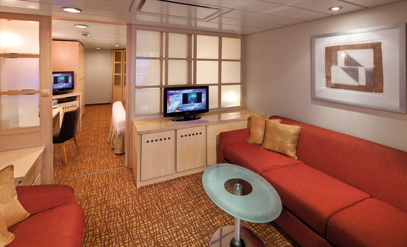 Familie suite van cruiseschip Celebrity Summit