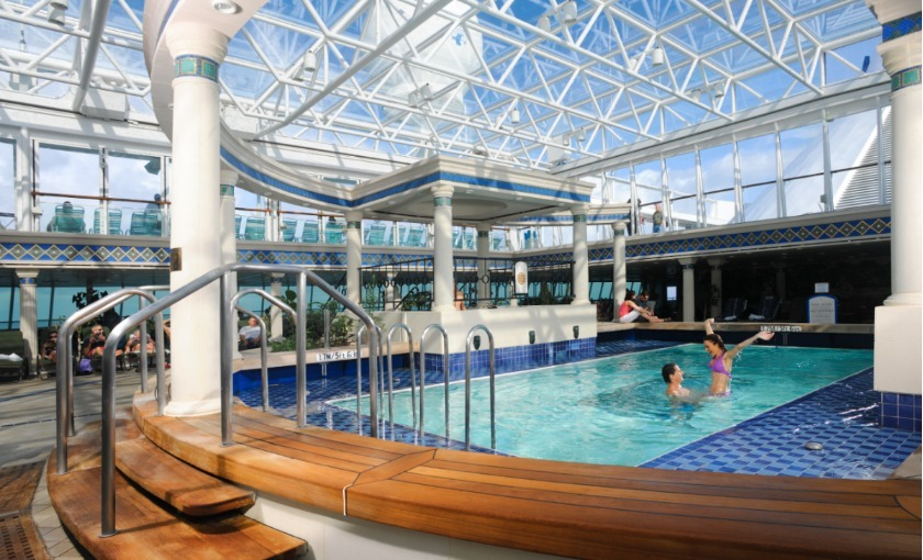solarium op de Enchantment of the Seas