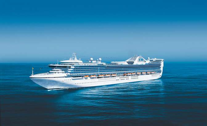 De star Princess van Princess Cruises