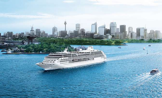 De Island Princess van Princess Cruises