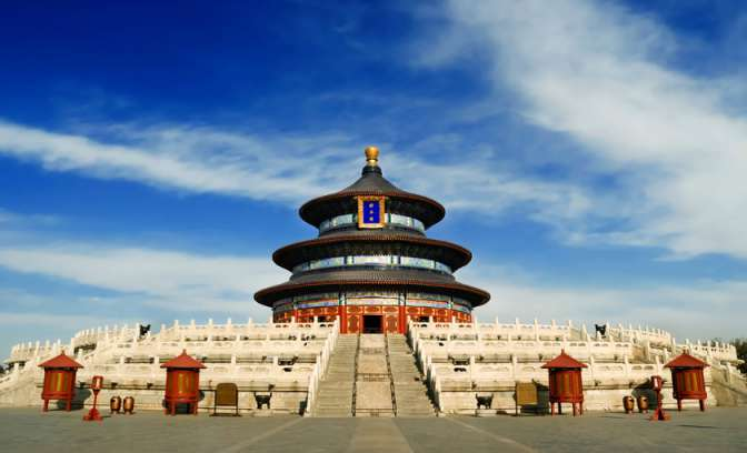 De Tempel of Heaven in Peking